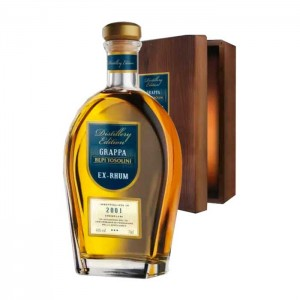 Grappa Barrique Ex-Rhum Decanter - Bepi Tosolini